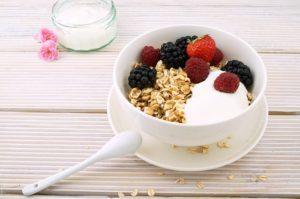Ovsené vločky s jogurtom